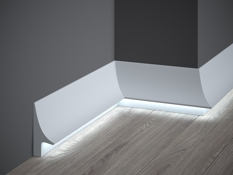 Indirect Lighting Mardom Decor En Stucco Skirtings Panel